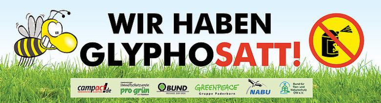 Kein Glyphosat auf unsere Böden